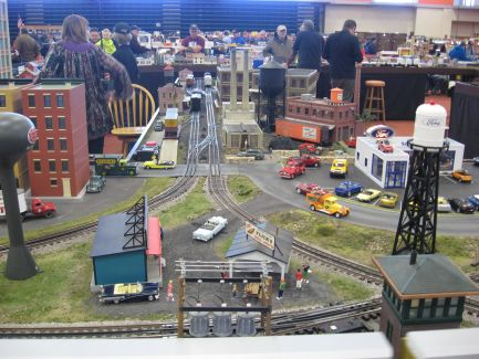 image of FCTT at RIT Tiger Tracks Train Show Rochester,NY 2017